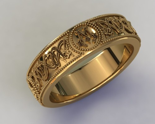 Signet Ring in Gold
