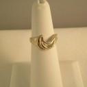 Sterling Silver  Swirl design